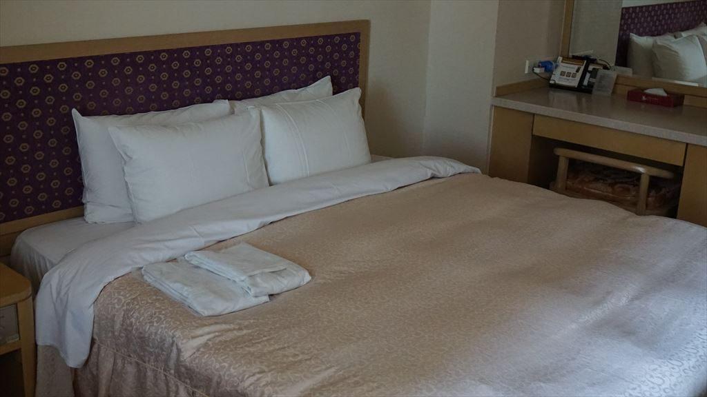 世宗ホテルのダブルルームです。