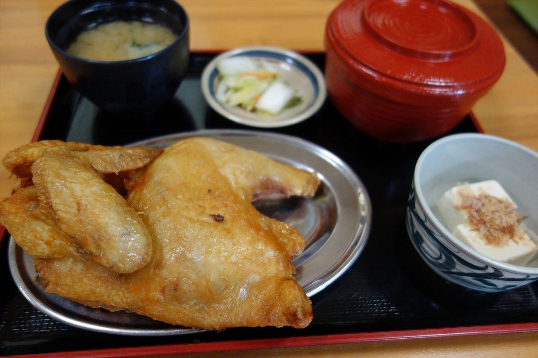 北海道うまいもの 「小樽若鳥時代なると本店 若鳥半身揚げ」