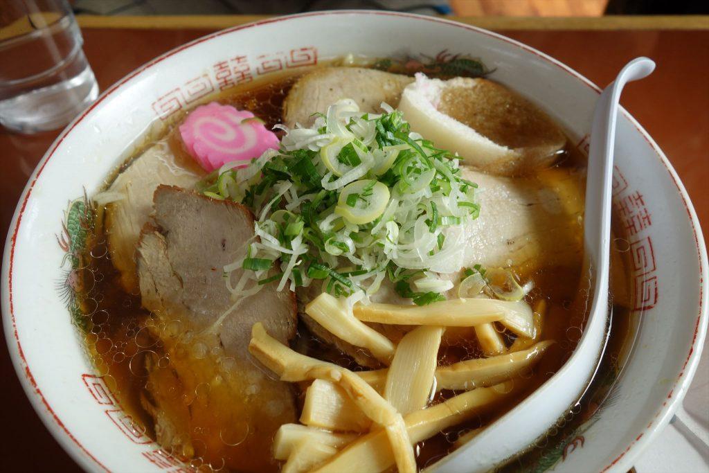 味の五十番 しょうゆチャーシュー麺