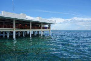 ナルスアン島のレストラン