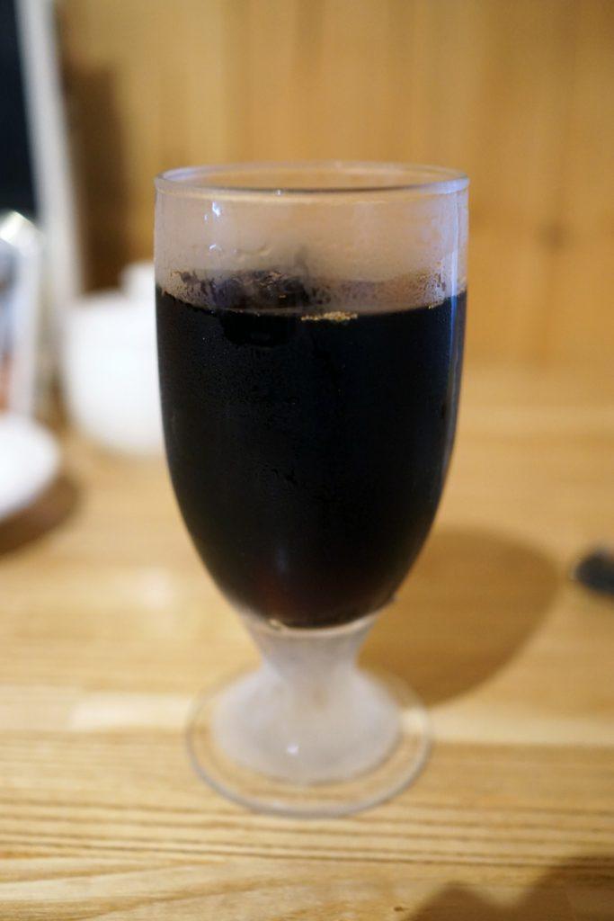 るびあのアイスコーヒー まろやかなのにパンチが・・って意味不明?