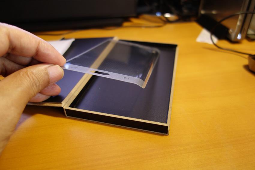 Galaxy Note Edge ガラスフィルム 本体