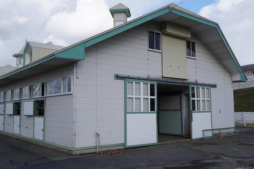 コスモヴューファームのB厩舎