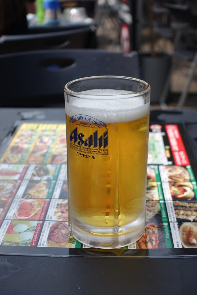 7丁目会場 ビール
